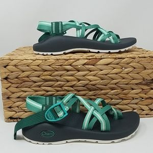 NWOB Chaco Classic Varsity Pine Sandals Wmns 6 A6D